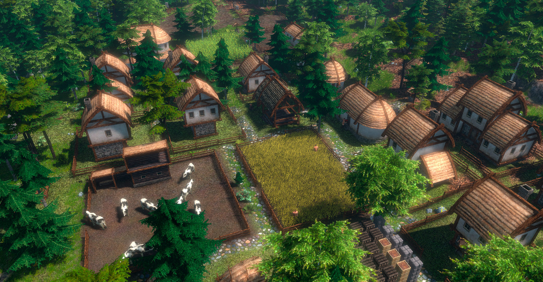 House Building Games Life Is Feudal Forest Village Windows Game Indie Db